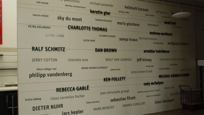 Einige der tollen Autoren des Bastei Lübbe Verlags