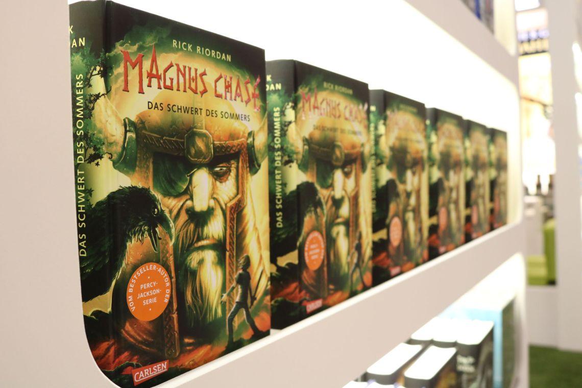 Magnus Chase am Carlsen Verlagsstand