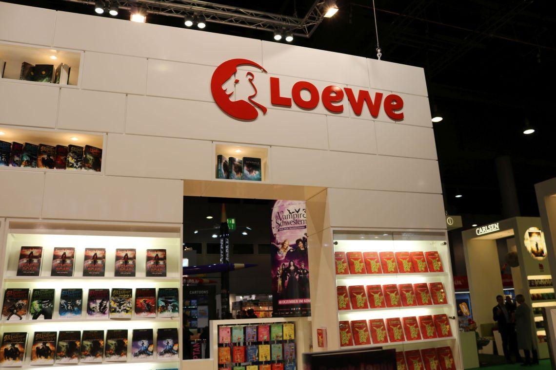 Der Loewe Verlagsstand