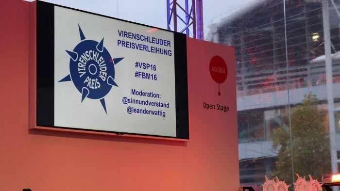 Verleihung des Virenschleider Preises 2016 #VSP16