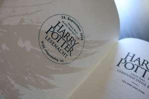 Exklusiver Stempel von der Carlsen Potternacht