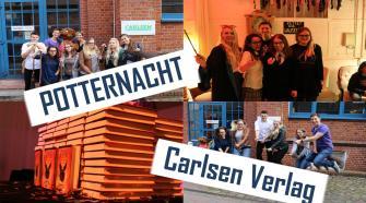 POTTERNACHT und Besuch des Carlsen Verlags in Hamburg