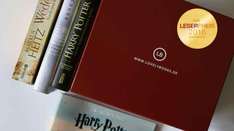 Lovelybooks Leserpreis 2016