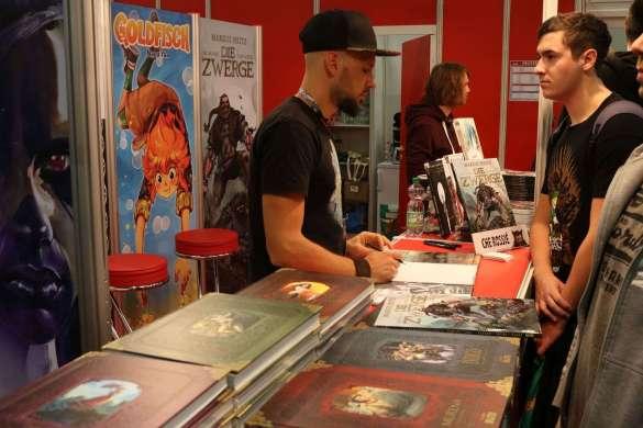 """Ché Rossie, Zeichner des """"Die Zwerge"""" Comics"""