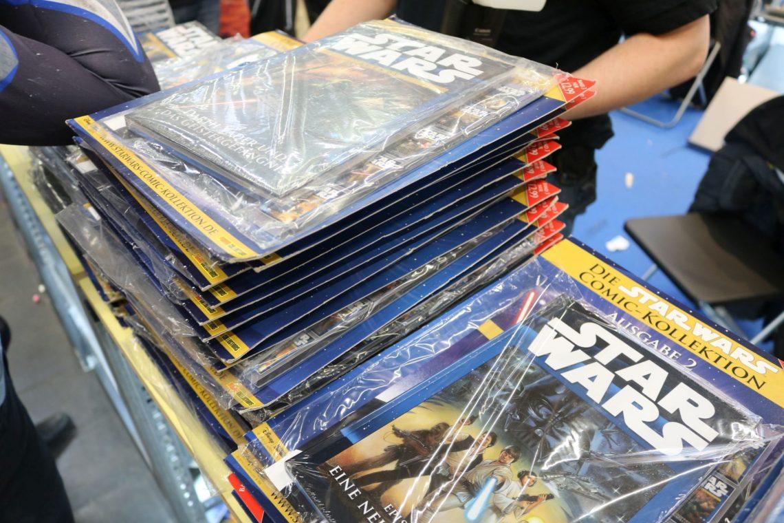Der Panini Verlag versorgte die Besucher der German ComicCon in Dortmund mit zahlreichen kostenlosen Comics