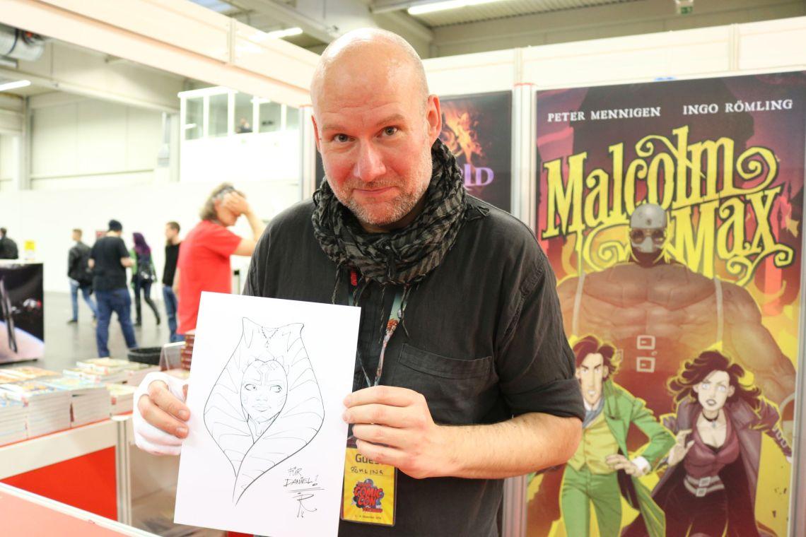 Ingo Römling, u.a. Zeichner der Star Wars Rebels Comics