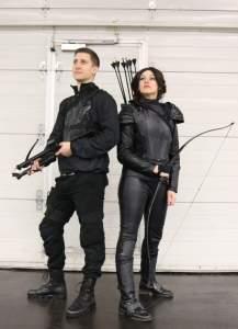 The Hunger Games Cosplay auf der German Comic Con 2016 in Dortmund