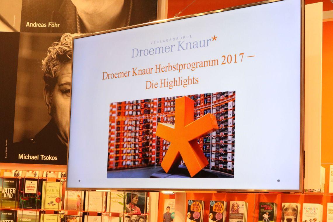 Droemer Knaur Herbstprogramm 2017 - Die Highlights