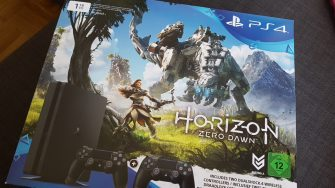 Playstation 4 Bundle mit Horizon Zero Dawn