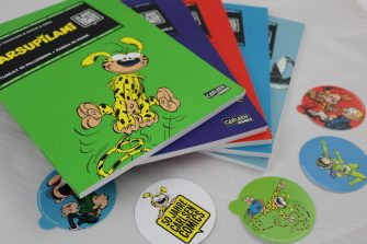 Two-in-One Comics von Carlsen Comics, u.a. Marsupilami, Gaston und Valerian & Veronique