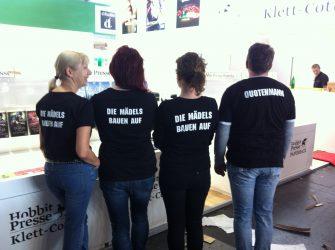 Das Klett-Cotta Messeteam ©Klett-Cotta