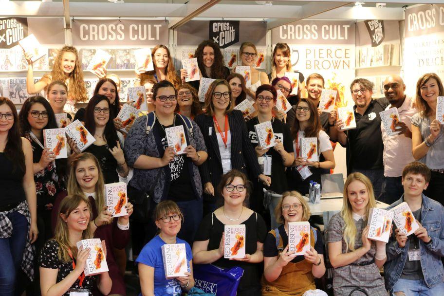Red Rising 4 - Asche zu Asche. Buchpremiere und Bloggertreffen auf der Frankfurter Buchmesse 2018