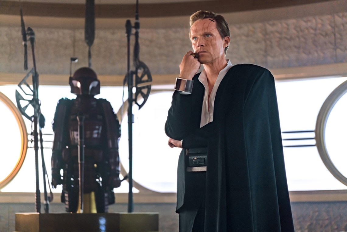 Paul Bettany is Dryden Vos in SOLO: A STAR WARS STORY. Copyright: 2017 Lucasfilm Ltd., All Rights Reserved.