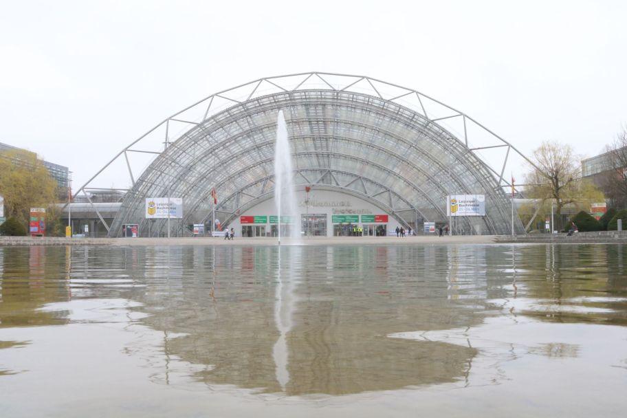 Leipziger Buchmesse - Glashalle