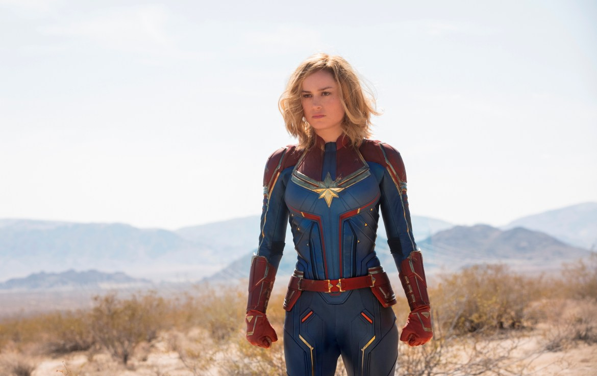 Marvel Studios' CAPTAIN MARVEL Carol Danvers/Captain Marvel (Brie Larson) Photo: Chuck Zlotnick ©Marvel Studios 2019