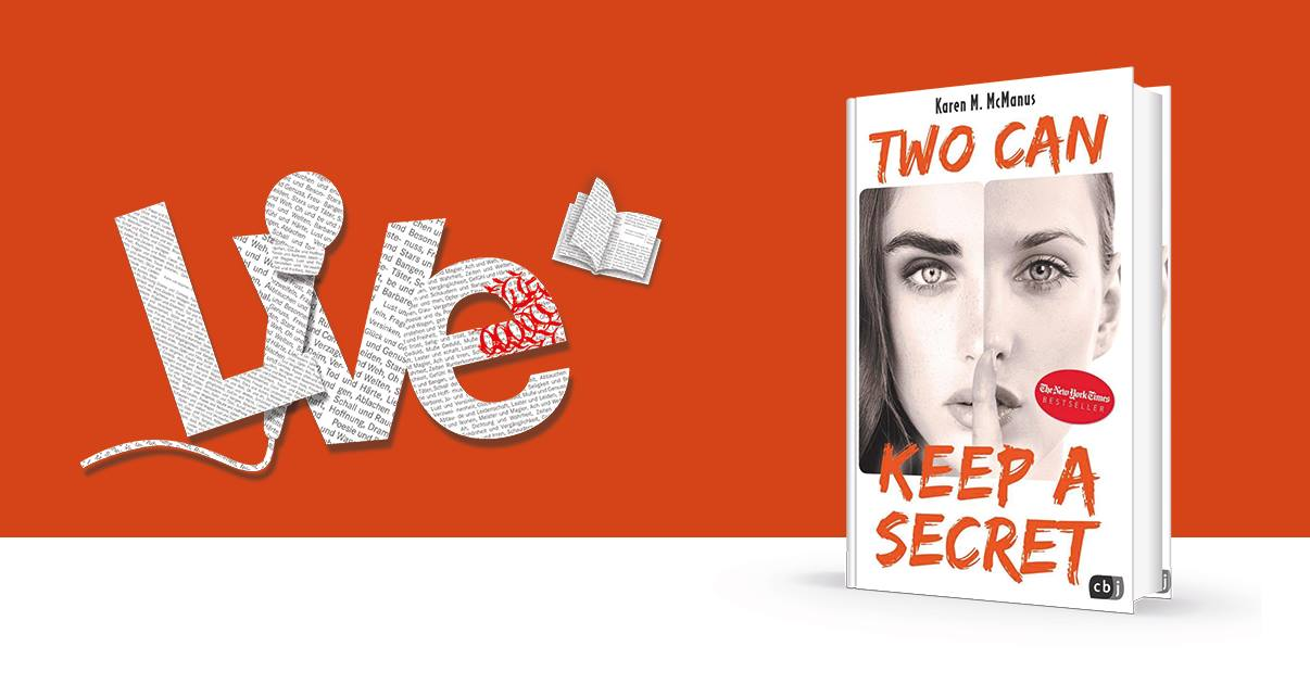 "Frankfurt I Karen McManus ""Two can keep a secret"""
