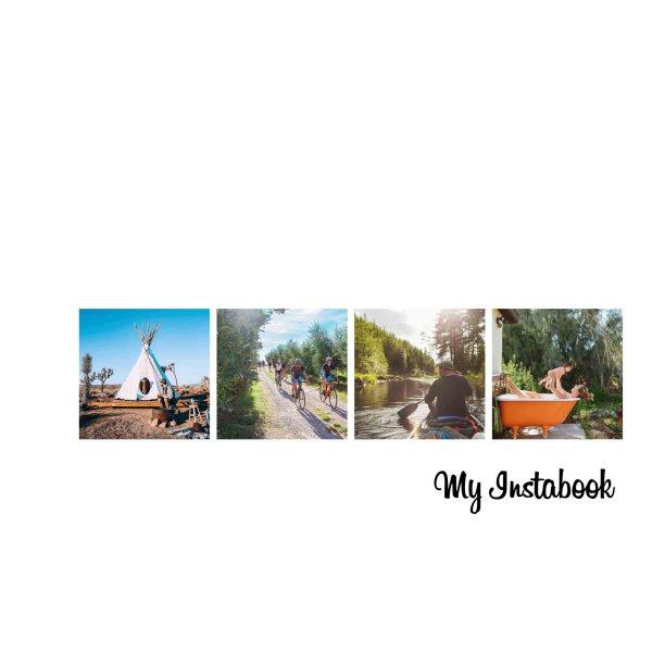 Инстабук обложка - печать фотокниги инстабук