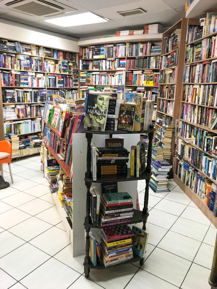 A trip to Devine Bookstore - Bookamoso Book Club