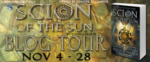 Scion of the Sun Blog Tour