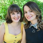 Michelle Andreani and Mindi Scott, co-authors of They Way Back to You | bookandlatte.com