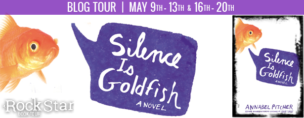 SILENCE IS GOLDFISH Blog Tour | A Book and a Latte | bookandlatte.com
