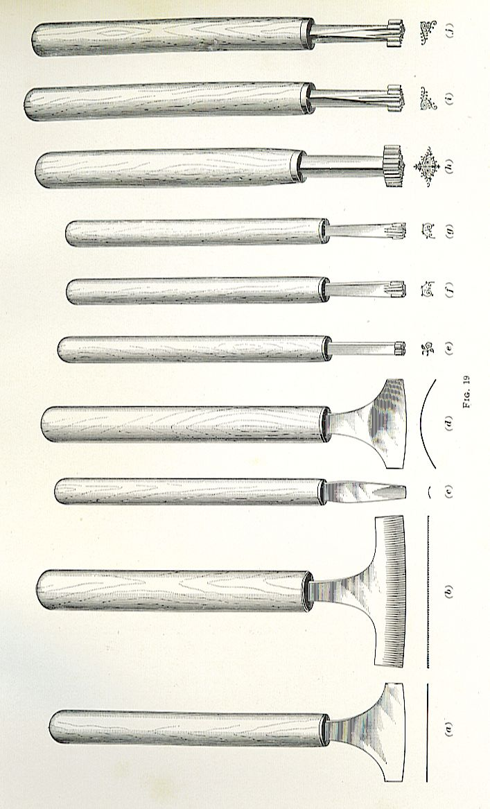 gold tooling tools