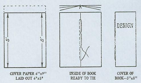 INSIDE OF BOOK READY TO TIE