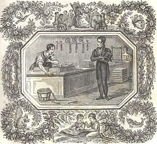 Michael Faraday bookbinder
