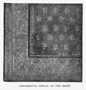 Ornamental bookbinding design