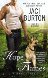 Guest Review: Hope Flames by Jaci Burton
