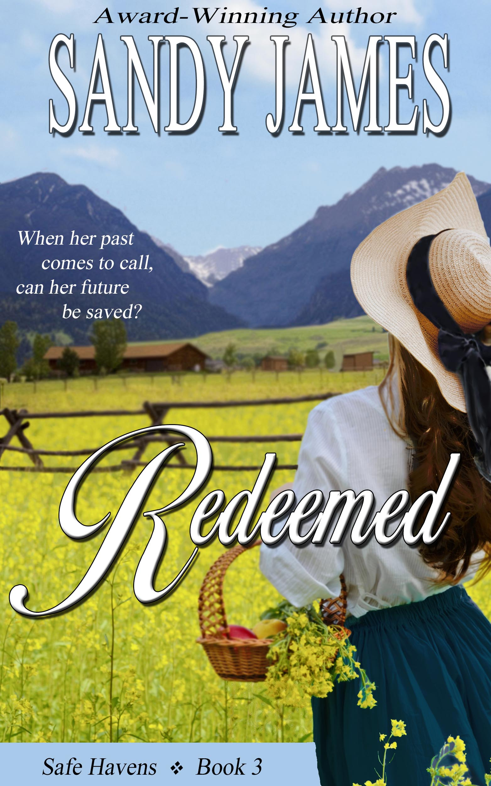 Giveaway: Redeemed by Sandy James (and a $15 Gift Card)
