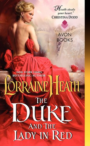 duke and lady in red