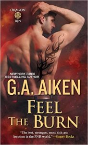 Guest Review: Feel the Burn by G.A. Aiken