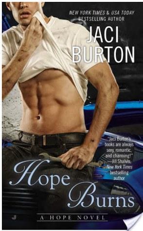 Guest Review: Hope Burns by Jaci Burton