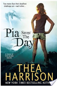 Twofer Review: Pia Saves the Day and Peanut Goes to School by Thea Harrison