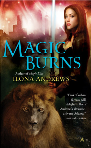 Sunday Spotlight: Magic Burns by Ilona Andrews