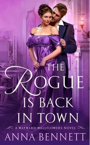 Guest Review: The Rogue is Back in Town by Anna Bennett