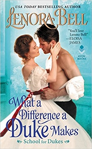 Sunday Spotlight: What a Difference a Duke Makes by Lenora Bell
