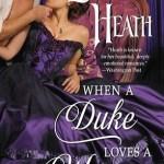 When a Duke Loves a Woman by Lorraine Heath book cover