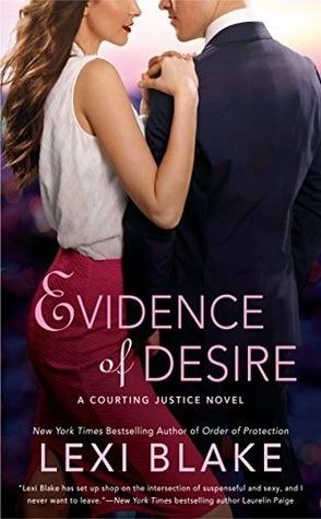 Sunday Spotlight: Evidence of Desire by Lexi Blake