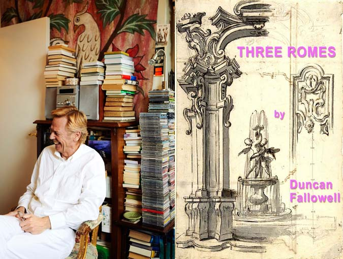 Interview, Proust's Questionnaire   Duncan Fallowell, author