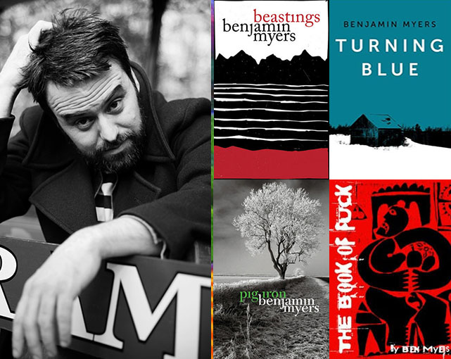 Interview | Benjamin Myers | Author of the Week