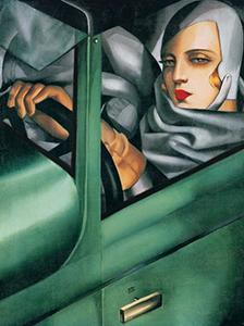 tamara de lempicka green bugatti bookblast review