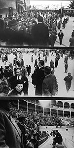 bullfight spain 1950s gael mayo photo bookblast