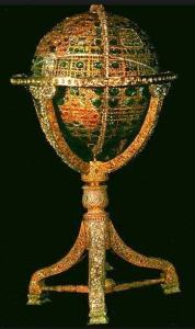 jewel studded globe iranian crown jewels