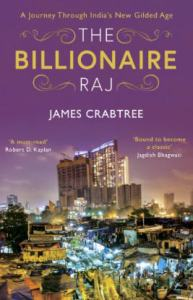 The Billionaire Raj by James Crabtree bookblast diary