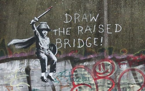 banksy_draw the raised bridge!