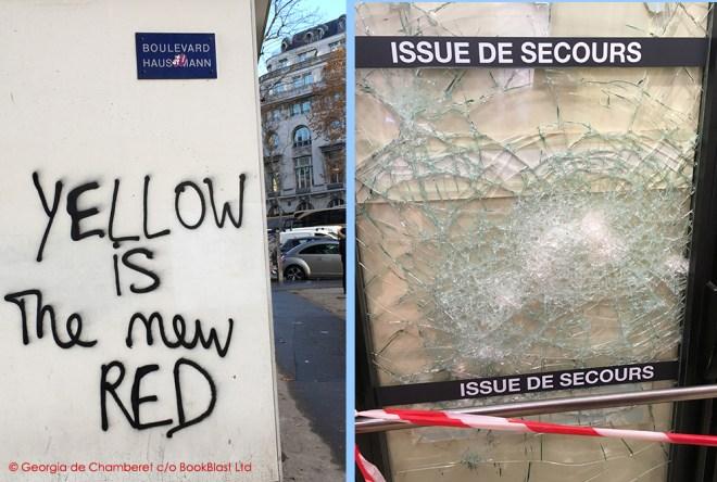 violence paris riots 2018