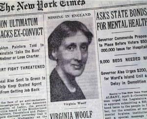 virginia woolf new york times
