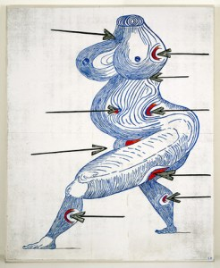 saint sebastienne louise bourgeois moma new york